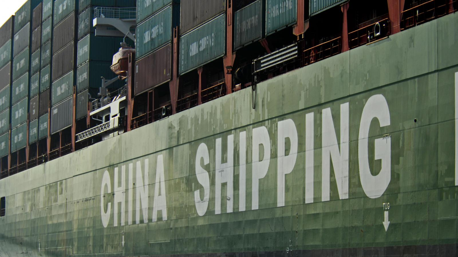Chineses Container Ship