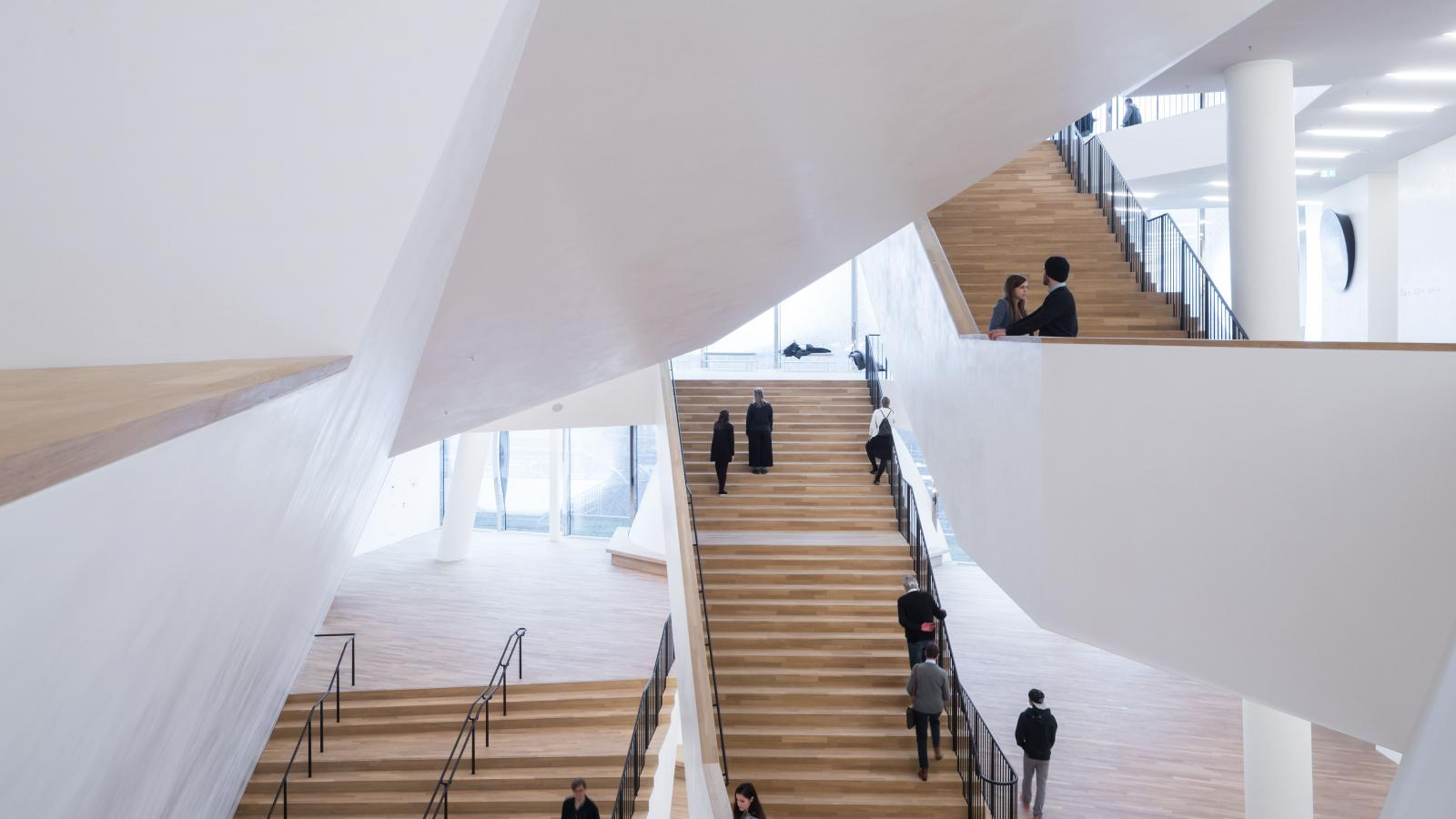 Foyer of the Elbphilharmonie's Grand Hall