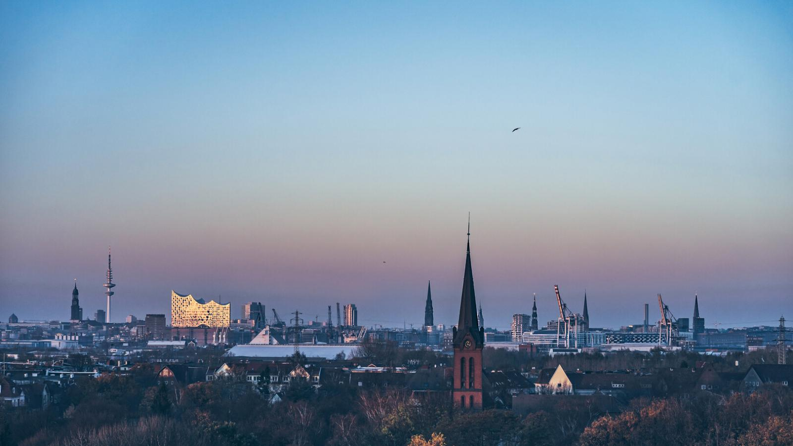 Skyline Hamburg