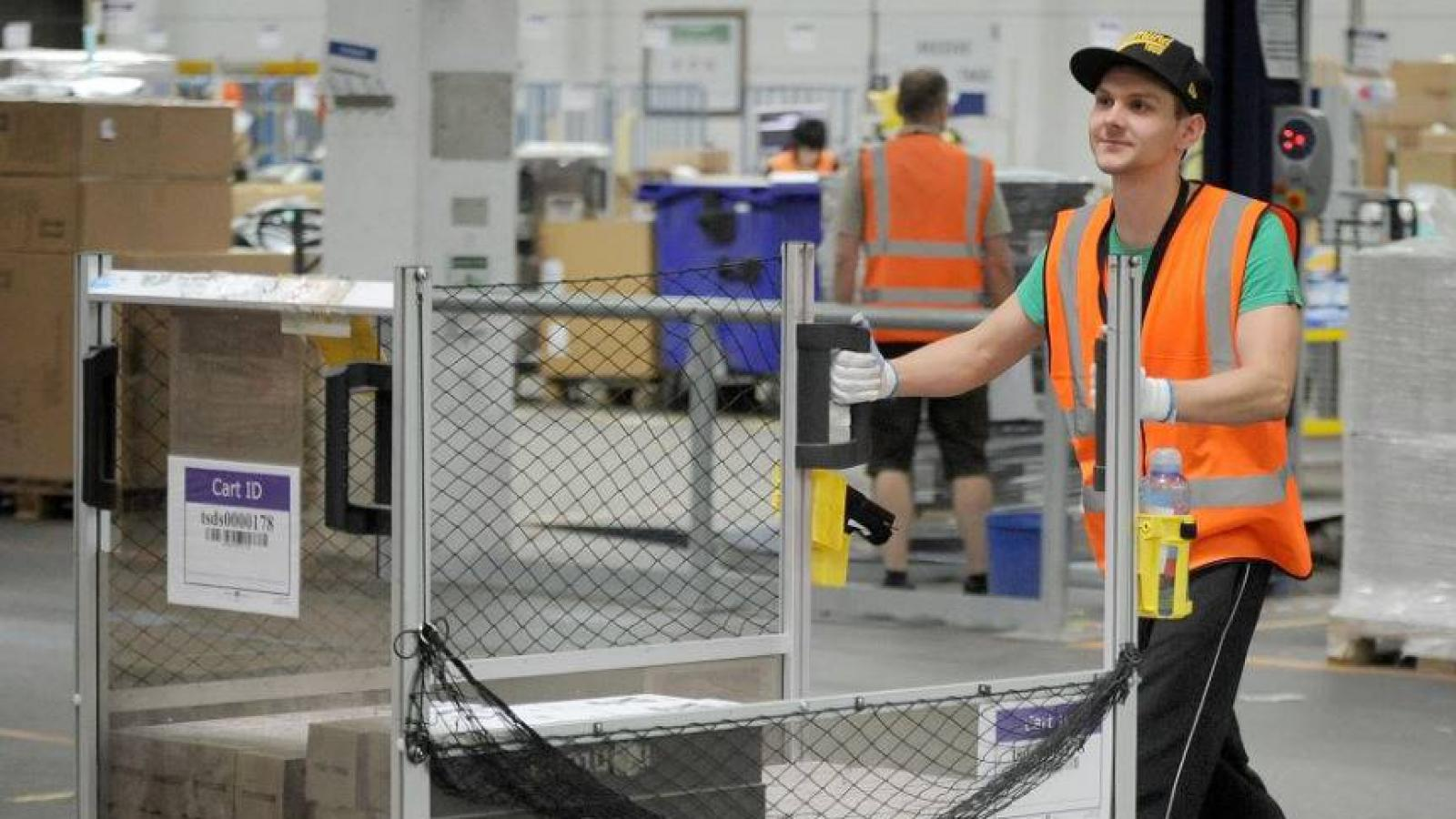 Amazon's logistics centre